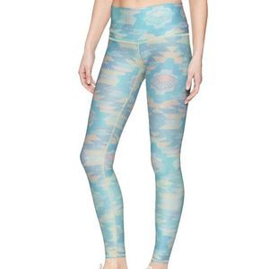 Teeki Hot Pants Blue Southern Cross Leggings Large